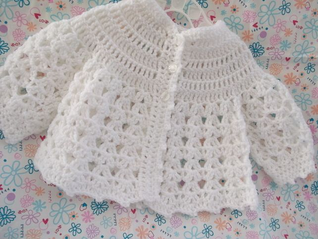 Lacy Baby Jacket £5.00