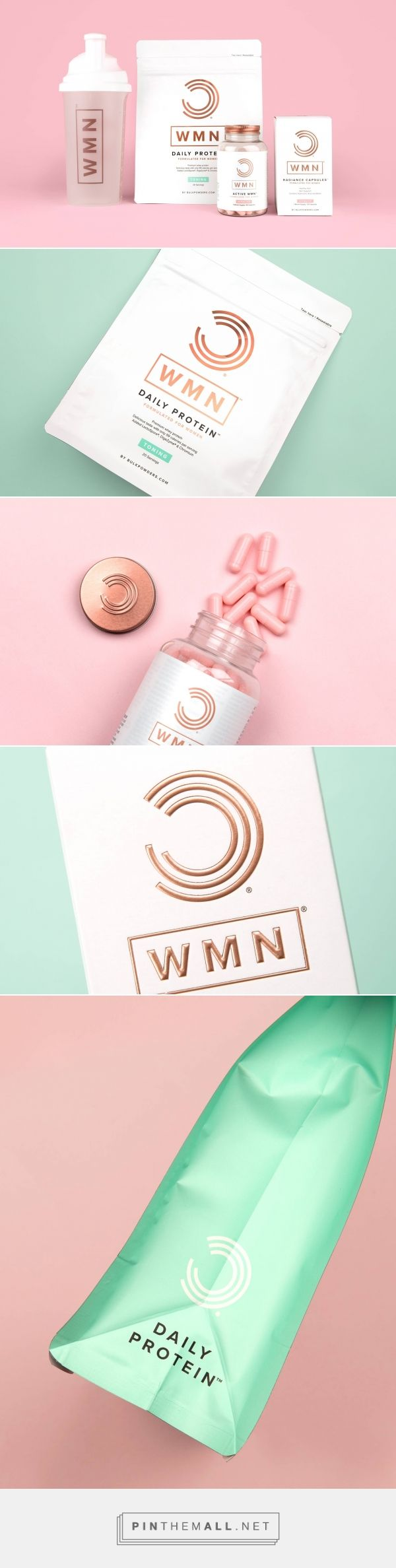 WMN - Packaging of the World - Creative Package Design Gallery - http://www.packagingoftheworld.com/2018/02/wmn.html