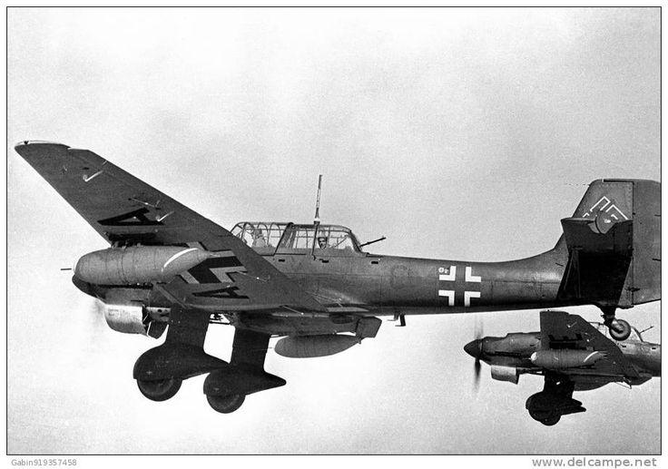Luftwaffe Stuka, Junkers ju-87