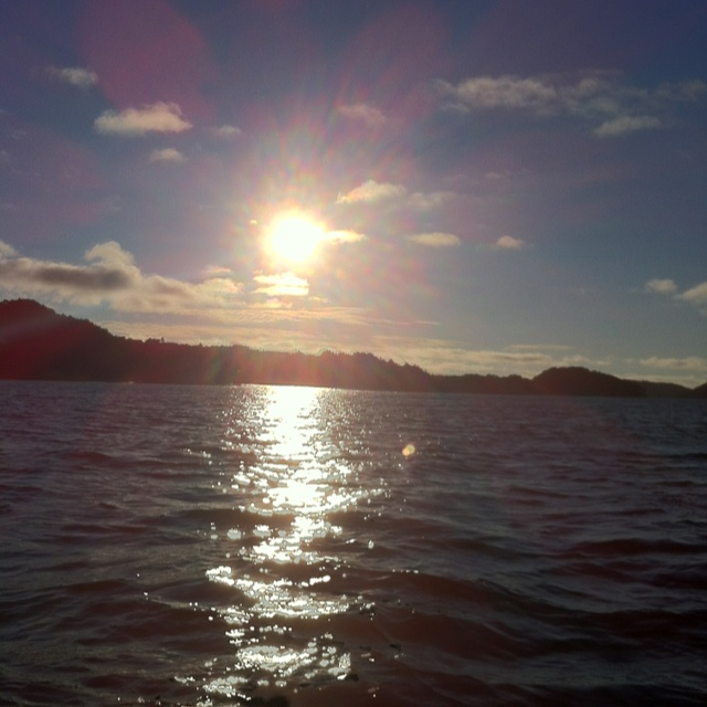 Bømla fjorden Norway, august 2012