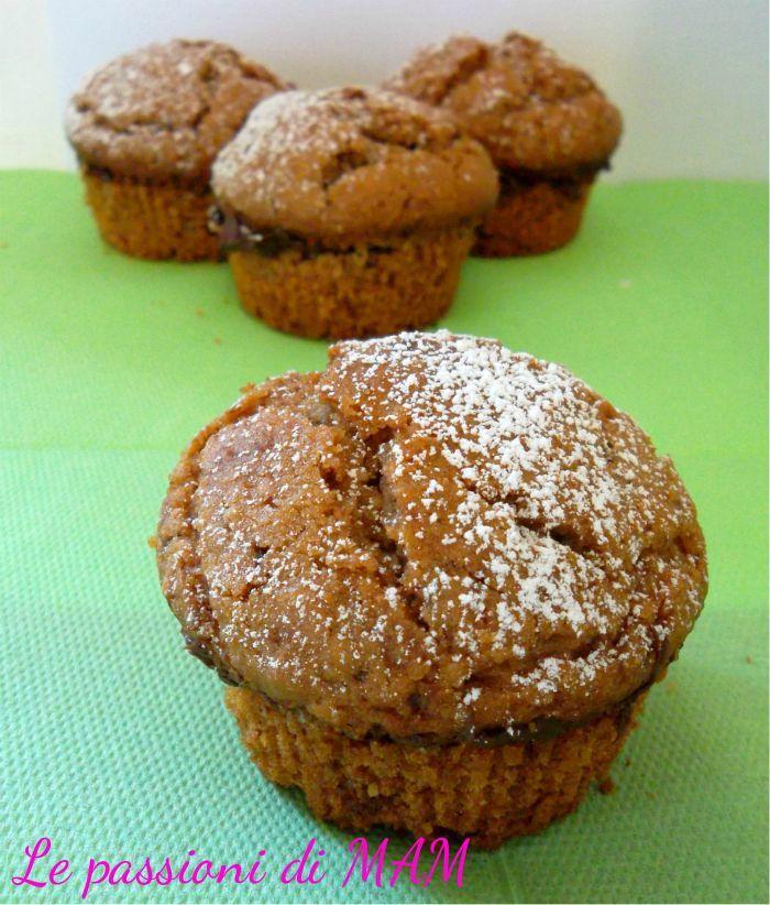 Muffin ai wafer con nutella   Le passioni di MAM