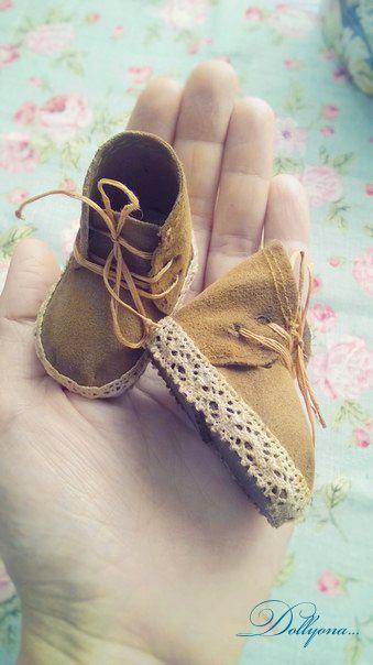 """Master Class """"¿Cómo puedo hacer zapatos para sus muñecas .."""" - Muñeca Mundial - Babyblog.ru"""