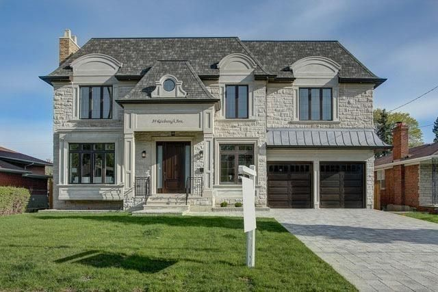 Absolutely Spectacular Custom Blt Home On Huge Lot!Impressive Foyer & Centre Hallway With Dome Skylight 25'Height! Masterfully Designed & Built!Extensive Use Of Woodwork & Built-Ins(Paneled Wall,Wall Units W/Walnut Accent),Marble/Hardwd Flr,Cof Cling(Principal Rm&5Bedrm),Led Potlit,Walnut Library!Master W/Lrg W/I Closet & Skylit & 8Pc Heatd Flr Ensuit+Steam!Kitchen:Hi-End Appliance Cabinet/Top!Fin W/O Heated Flr Bsmnt:Gym,Theater Rm,4Pc Bath,Wet Bar Wine cellar.Tandem Garage