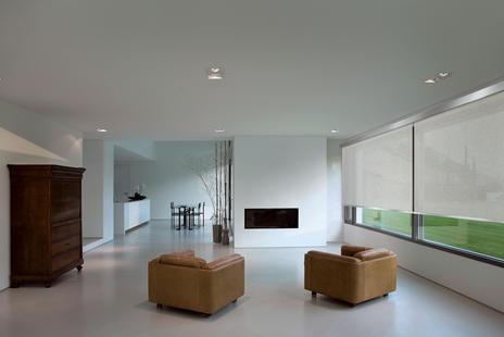 Scaglioni - Q-MOTION ® Decorative roller blinds whit Q-MOTION technology.