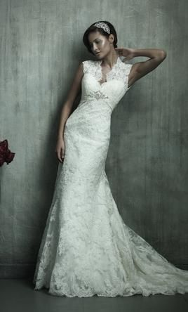 used allure wedding dress