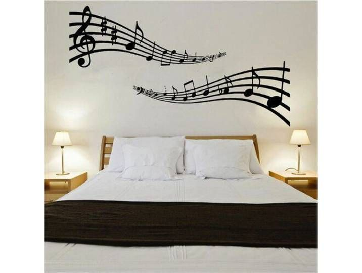 Wandtattoo Musiknoten Music Wall Art Music Wall Wall Stickers