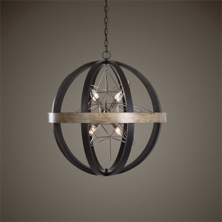 Uttermost Polaris 8 Lt Chandelier Texas Chandelier