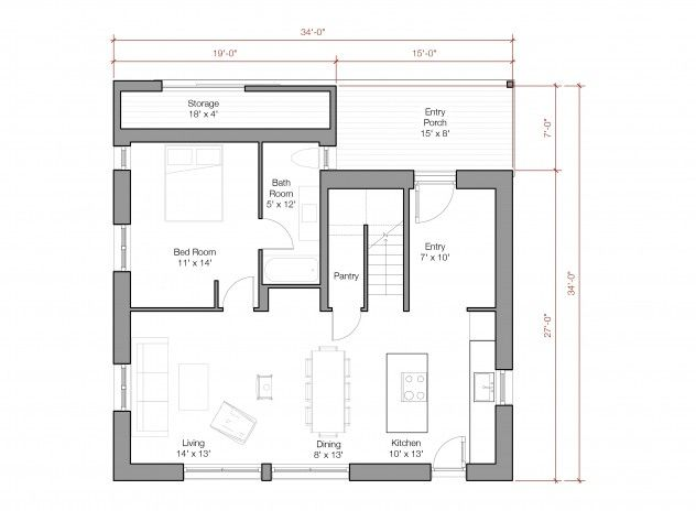 Super energy efficient prefab rural farmhouse hq plans for Super insulated house plans