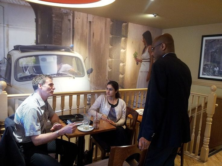 Engaging conversations at the L4G Coffee in Ruislip #L4G