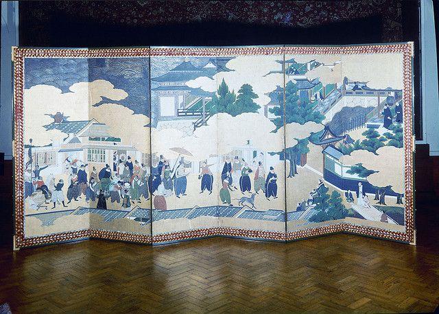 Biombo, Museu Nacional de Arte Antiga, Lisboa,