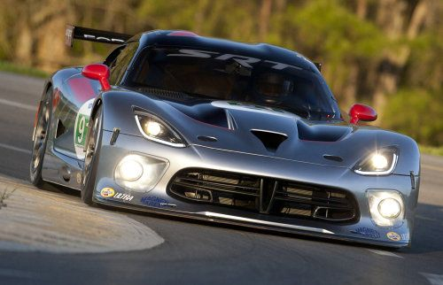 The 2013 SRT Viper GTS-R ALMS race car