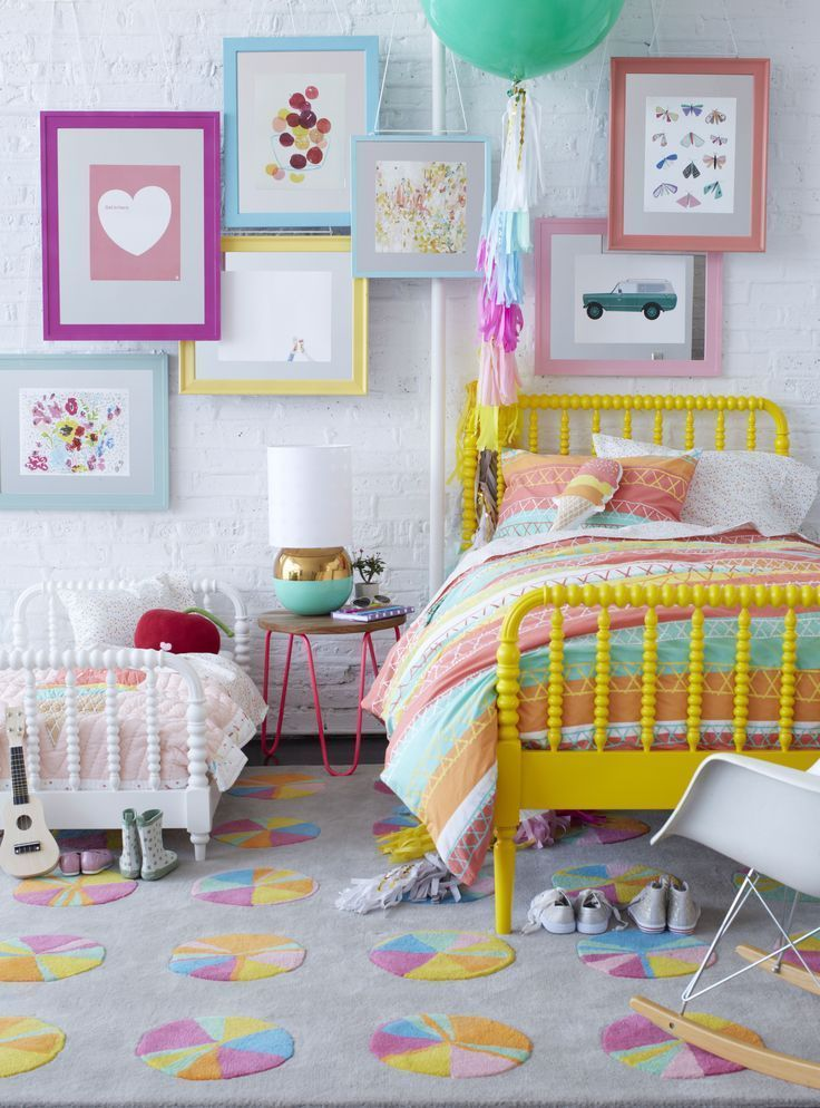 bright and colorful little girl bedroom decor ideas and inspiration rh pinterest com
