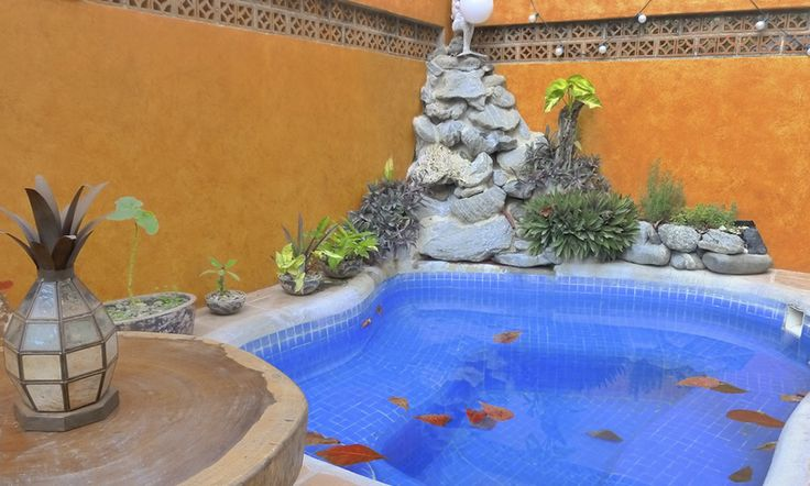 Swimming pool - Hotel Cielo Rojo #sanpancho #Mexico #Nayarit