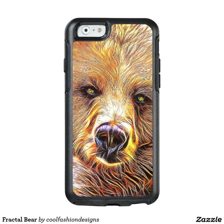 Fractal Bear OtterBox iPhone 6/6s Case