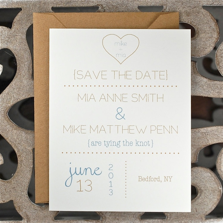 Heart Wedding Invitations Wedding Invites Rustic Wedding