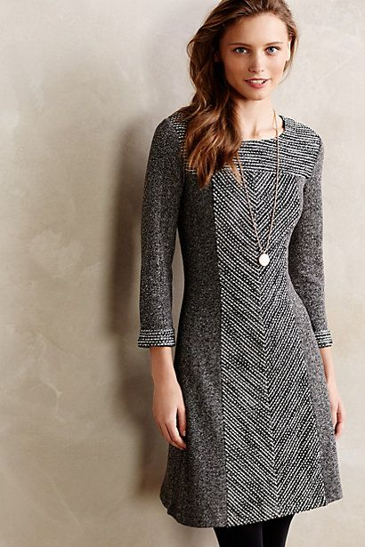 Love the seaming here -- makes this dress special. Shimmer Panel Dress - anthropologie.com #anthrofave