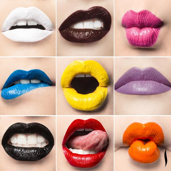 Lip tar speaks louder than words. Try a dose of statement color from Obsessive Compulsive Cosmetics #OCC #makeup #lips #lipliner