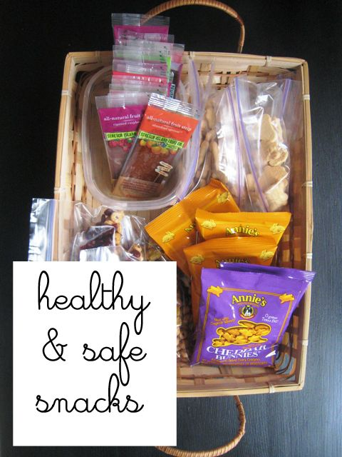 Healthy and Safe Snacks - how to provide classroom snacks that meet school safety guidelines