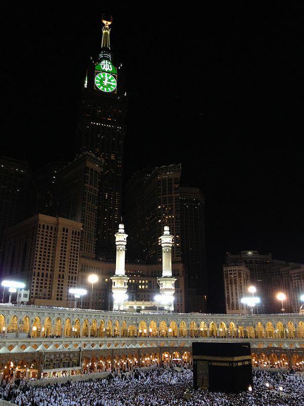 Kabe & ZamZam tower, Makkah, Saudi Arabia