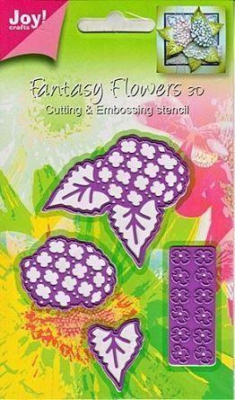 Joy Crafts Dies - Fantasy Flowers 3D - HYDRANGEA - 6002-0182
