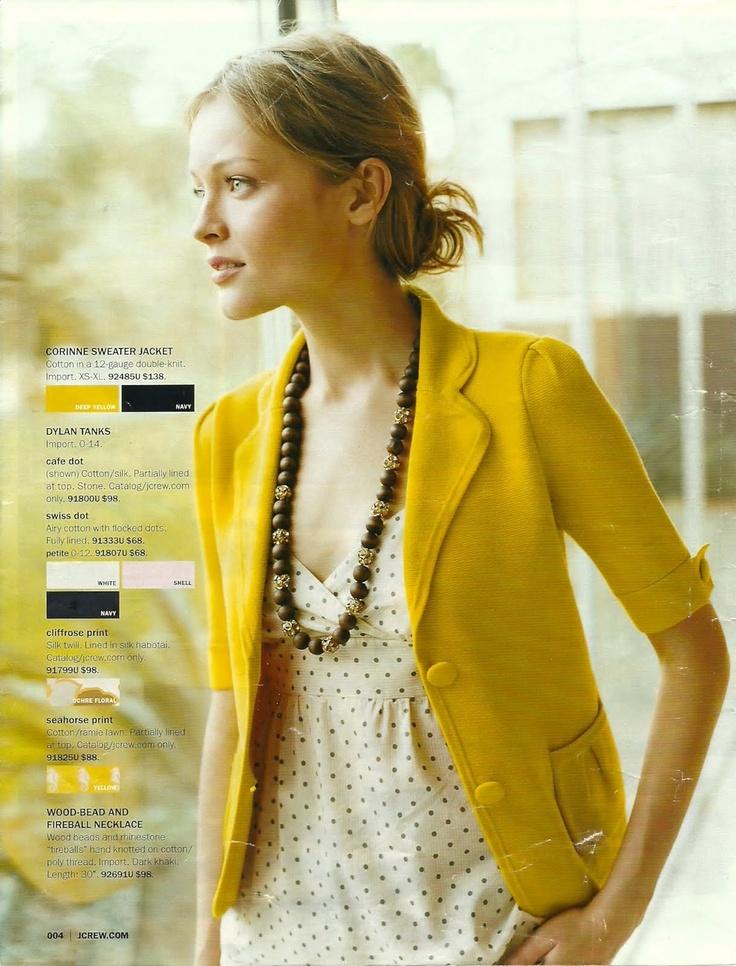 loving the yellow