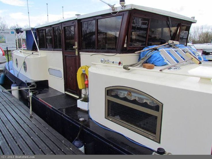 """Dutch Barge Luxe Motor Canal River and cat. C Coastal barge for sale, 19.50m (64'0""""), 2005   Boatshed Grand Union"""