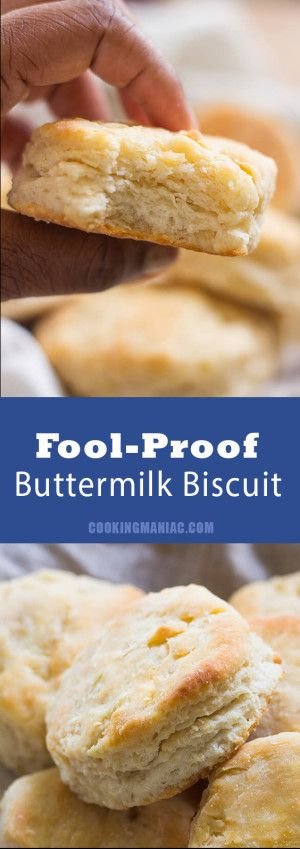 These easy fool proof fluffy biscuits are so easy to make and positively delicio… – recipes