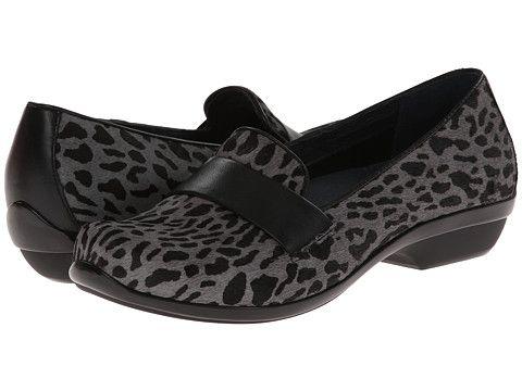 Dansko Oksana Grey Cheetah Hair Calf - Zappos.com Free Shipping BOTH Ways