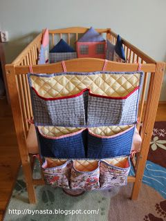 Nasta Taras: Кармашки на кроватку