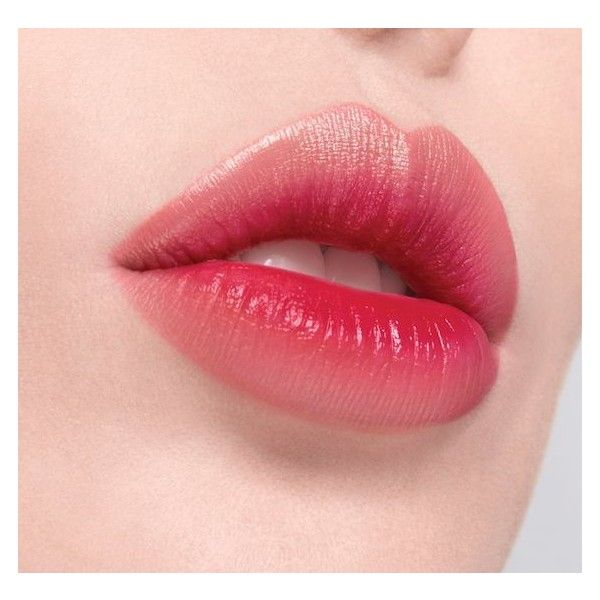 Get Ombre Lips Instantly With LANEIGE Two-Tone Lip Bar ❤ liked on Polyvore featuring beauty products