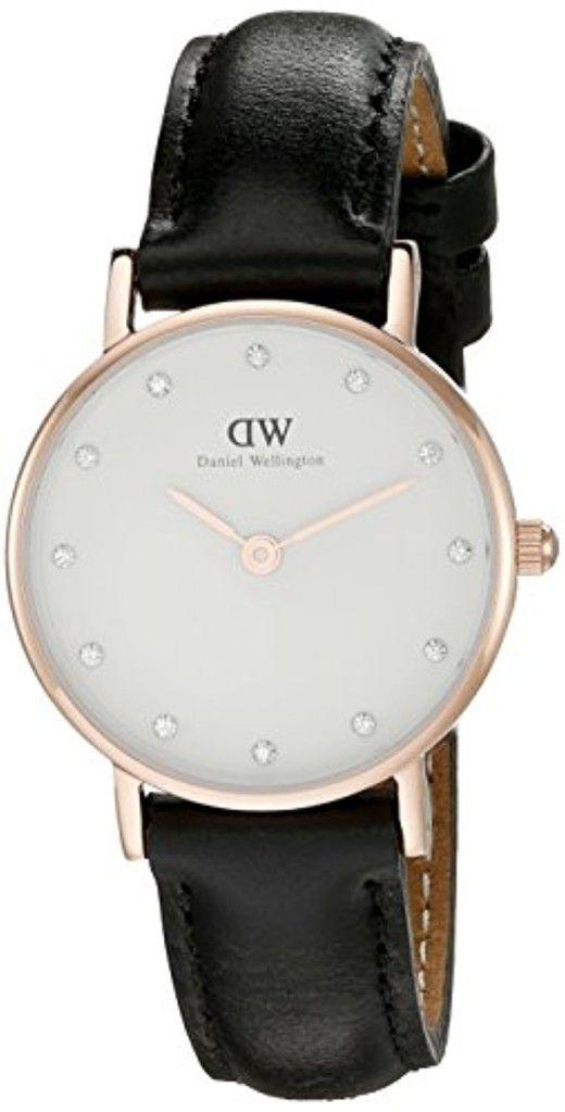 dw montre femme noire