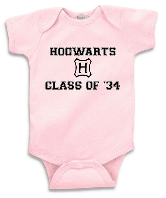 Hogwarts Class of XX customizable onesie or by DoodlesAndDots2