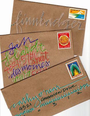 348 best Art Journal Lettering Techniques images on Pinterest - best of example letter semi block style