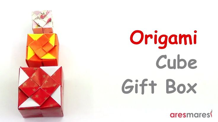 Origami Cube Gift Box (intermediate - single sheet) Present your gift in unique package!!! #origami #unitorigami #howtomake #handmade #colorful #origamiart #diy #doityourself #paper #papercraft #handcraft #paperfolding #paperfold #paperart #papiroflexia #origamifolding #instaorigami #interior #instapaper #craft #crafts #creative #hobby #оригами #折り紙 #ユニット折り紙 #ハンドメイド #カラフル #종이접기 #اوريغامي