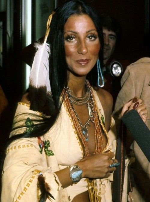 She was my idol and I used to sing that song and pretend I was her! cher-half-breed.jpg (500×670)