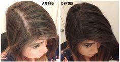 receita para encher cabelo
