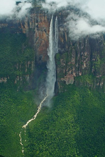 Angel Falls in Venezuela, South America