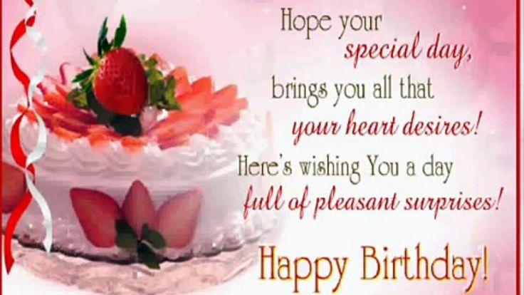 Pin By Hanna Kropkowska On Happy Birthday: Best Happy Birthday Wishes To You