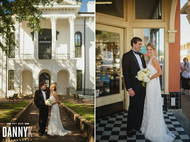 Mississippi Wedding Photography Around The Square In Oxford MS