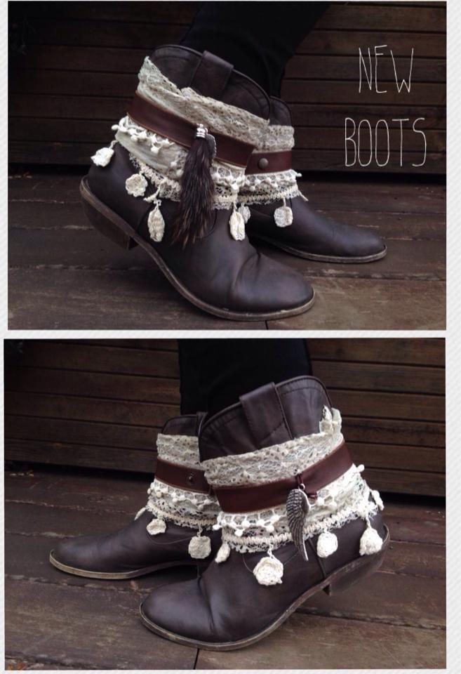 botas customizadas por el Armari
