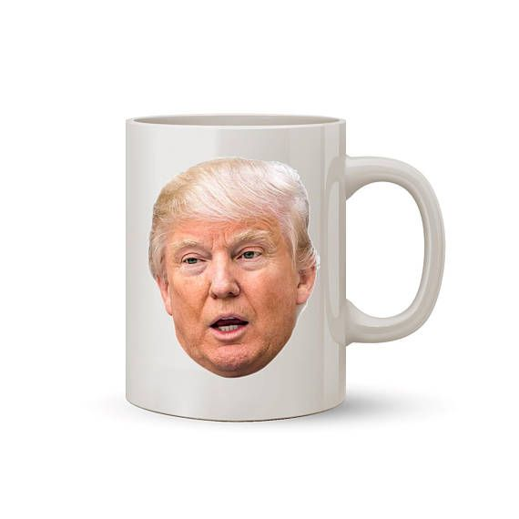 Donald Trump Open Mouth Face Mug Coffee/Tea Mug  Perfect Gift