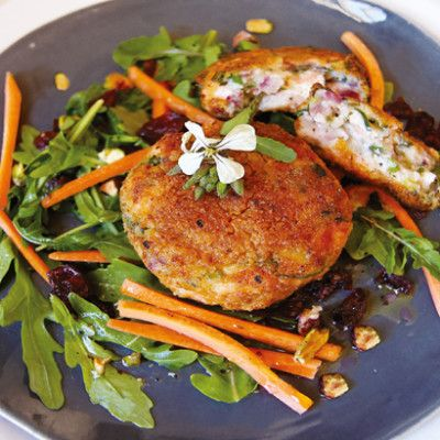 Salmon fish cakes by Siba