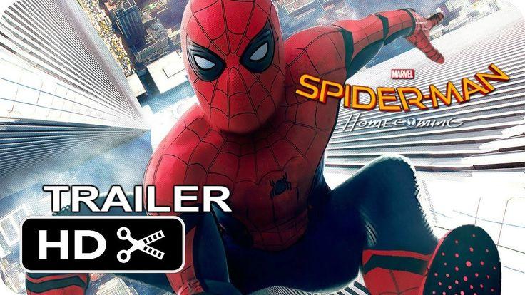 Spider-Man Homecoming Movie official trailer - Tom Holland - Zendaya - R...