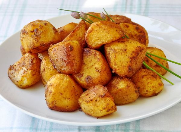 Barbeque Spiced Roasted Potato Nuggets - a terrific summer barbeque side dish or at any time of year. This recipe takes plain old potatoes to a whole new level of flavor.