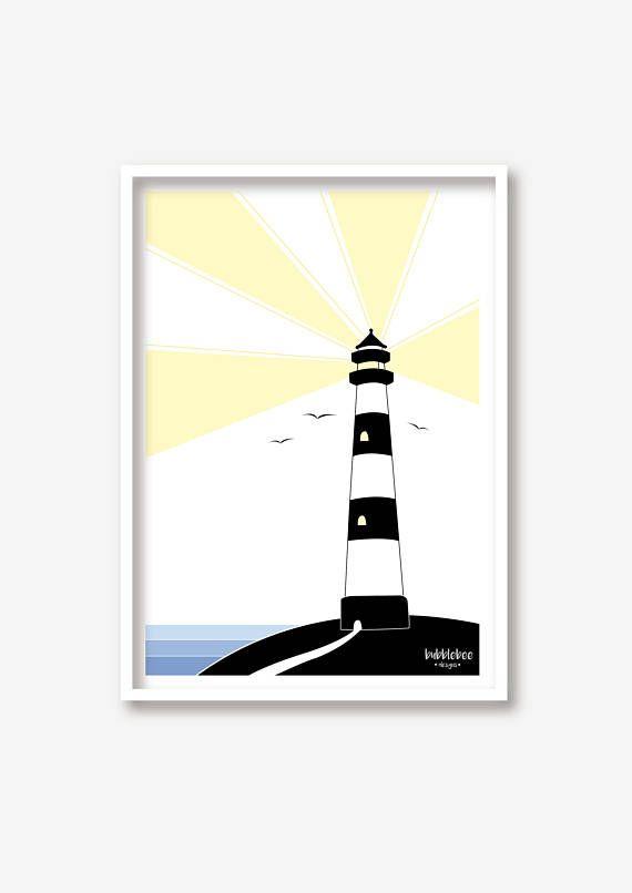 Sieh dir dieses Produkt an in meinem Etsy-Shop https://www.etsy.com/de/listing/518980414/kinderzimmer-illustration-leuchtturm