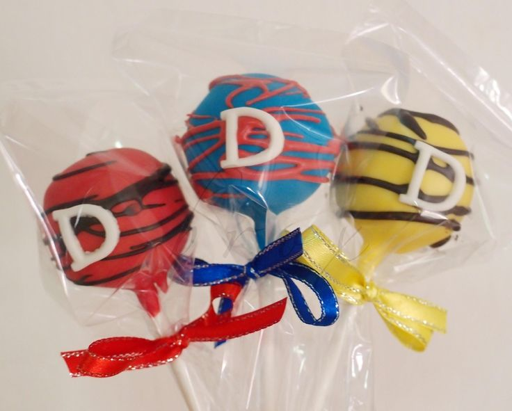 Superman Cake Pops Recipe