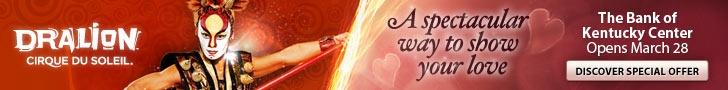 Cirque Du Soleil Dralion  March 28-April 1