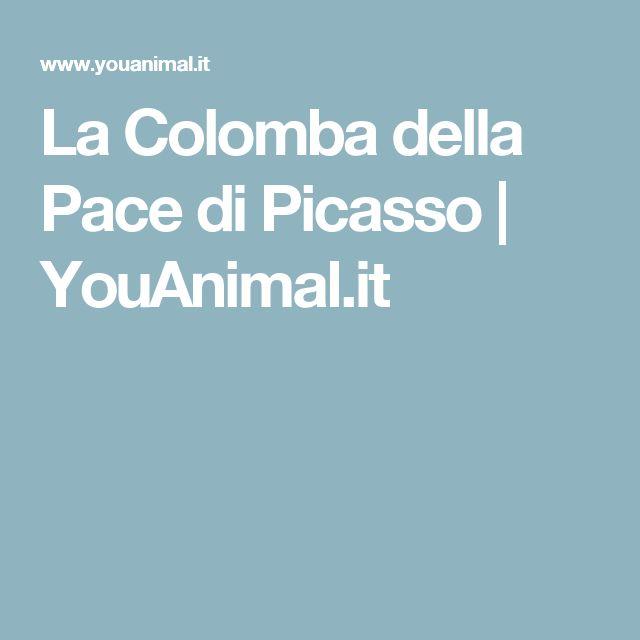 La Colomba della Pace di Picasso   YouAnimal.it