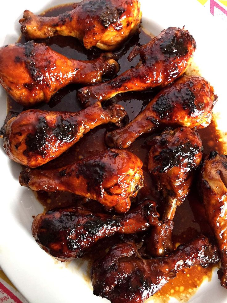 Easy Honey Soy BBQ Baked Chicken Legs Recipe – Melanie Cooks