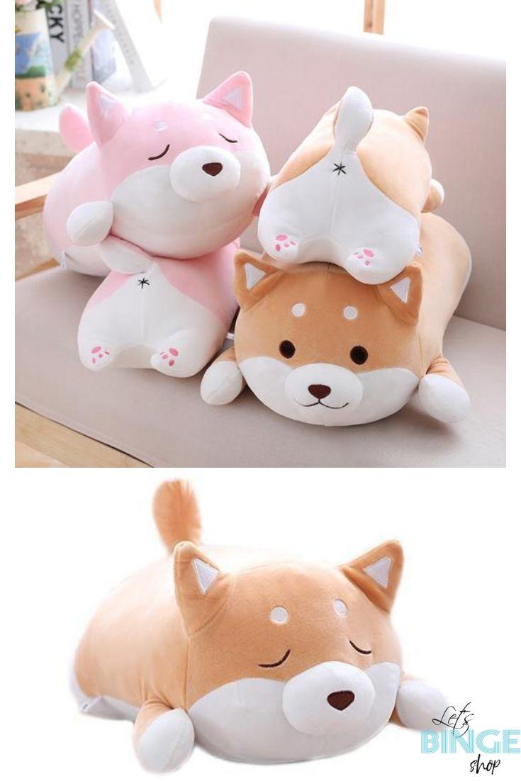 Shiba Inu Plush Pillow Plush Stuffed Animals Plush Pillows Plush